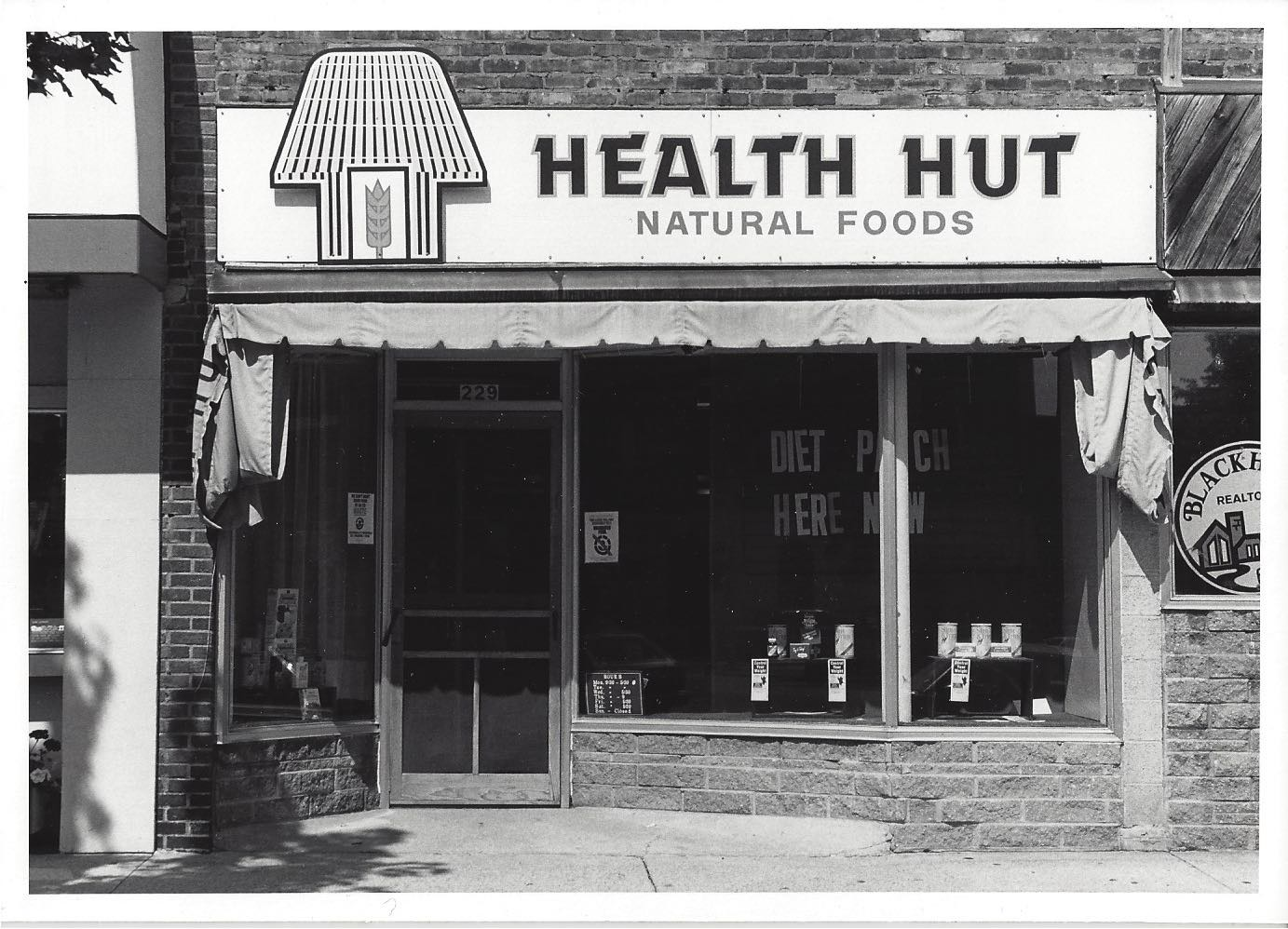 Health Hut - Old Photo